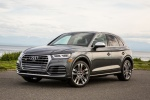 Picture of a 2018 Audi SQ5 quattro in Daytona Gray Pearl Effect from a front left perspective
