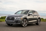 Picture of a 2020 Audi SQ5 quattro in Daytona Gray Pearl Effect from a front left perspective