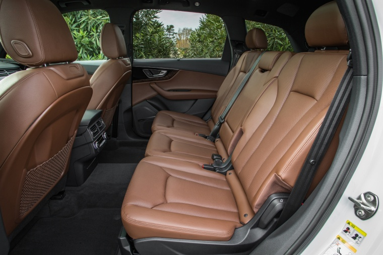 2018 Audi Q7 3.0T quattro Rear Seats Picture