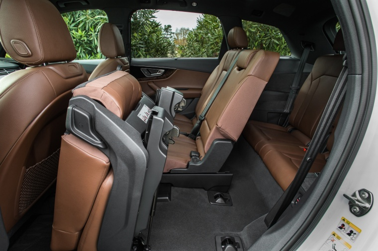 2018 Audi Q7 3.0T quattro Rear Seats Folded Picture