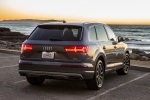 Picture of a 2018 Audi Q7 3.0T quattro in Graphite Gray Metallic from a rear right perspective