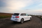 2018 Audi Q7 3.0T quattro in Glacier White Metallic - Static Rear Right Three-quarter View