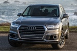 Picture of a 2018 Audi Q7 3.0T quattro in Graphite Gray Metallic from a frontal perspective