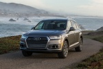 Picture of a 2018 Audi Q7 3.0T quattro in Graphite Gray Metallic from a front left perspective