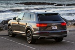 Picture of a 2018 Audi Q7 3.0T quattro in Graphite Gray Metallic from a rear left perspective