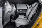 2019 Audi Q8 Premium 55 TFSI quattro Rear Seats in Pando Gray