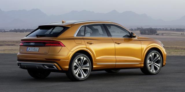 Research the 2019 Audi Q8