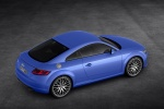 2017 Audi TT Coupe in Scuba Blue Metallic - Static Rear Right Three-quarter View