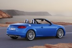 2017 Audi TT Roadster in Scuba Blue Metallic - Static Rear Right Three-quarter View