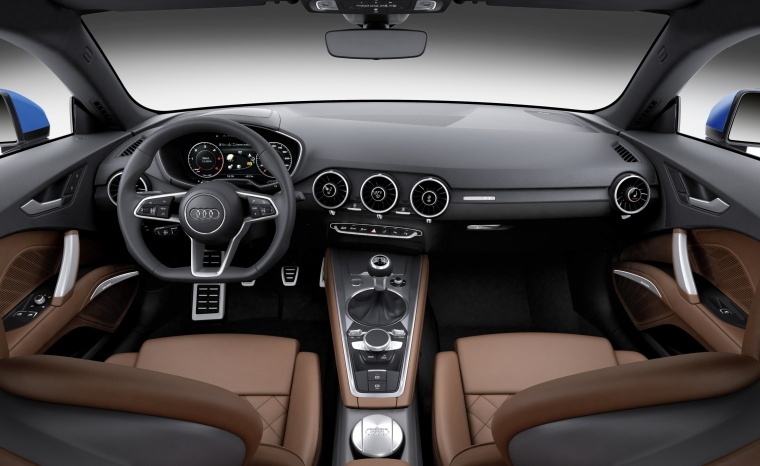 2018 Audi TT Coupe Cockpit Picture