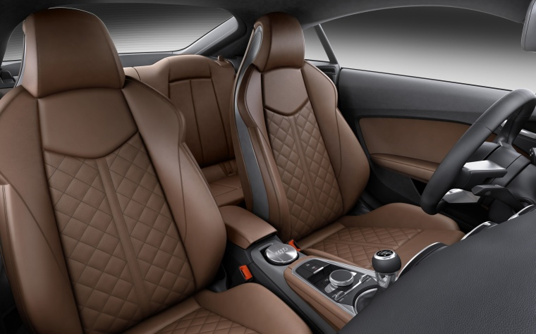 2018 Audi TT Coupe Front Seats Picture