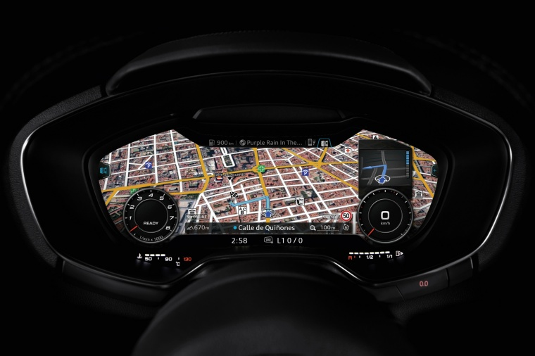 2018 Audi TT Coupe Gauges Picture