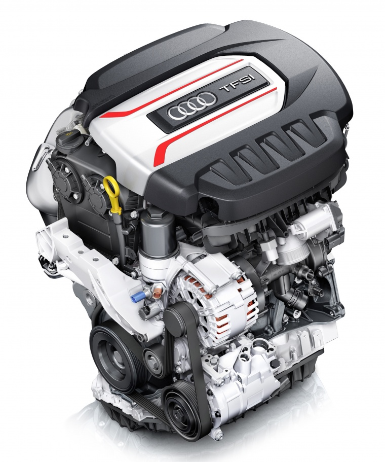 2018 Audi TTS Coupe 2.0L 4-cylinder turbo Engine Picture