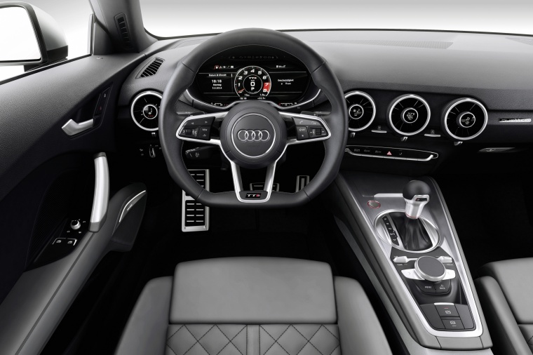 2018 Audi TTS Coupe Cockpit Picture