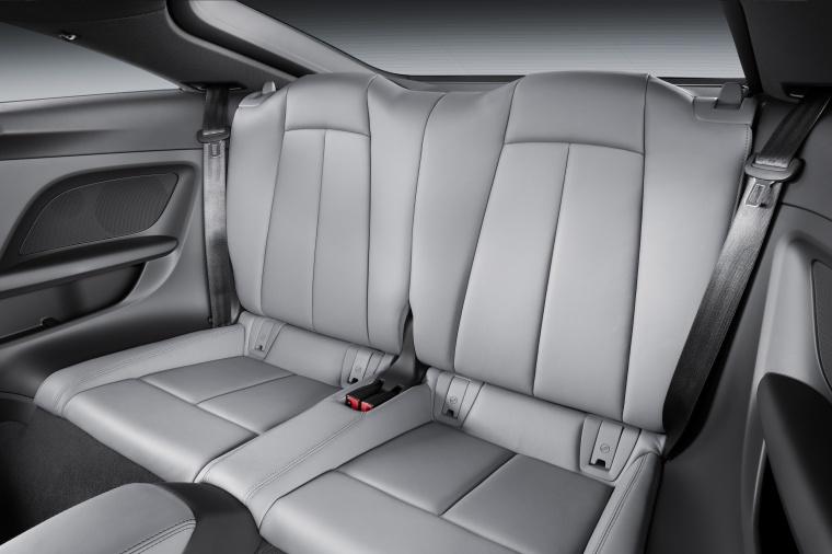 2018 Audi TTS Coupe Rear Seats Picture