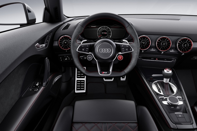 2018 Audi TT RS Coupe Cockpit Picture