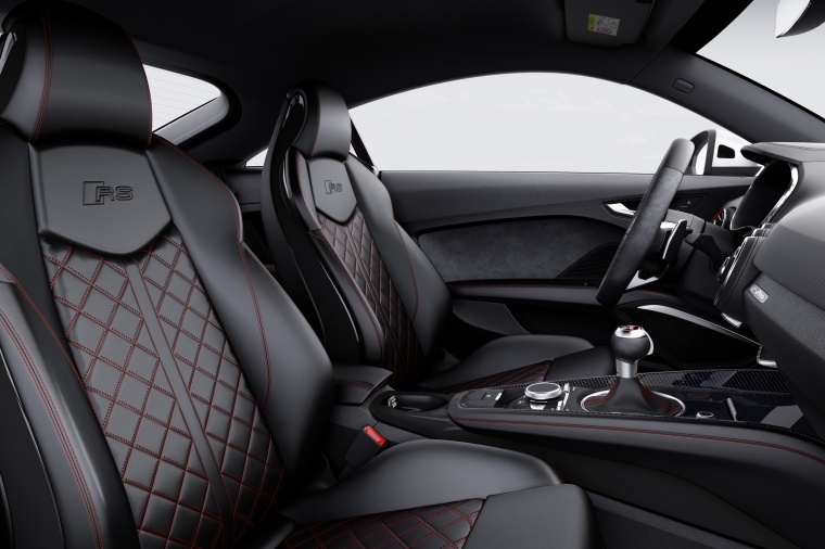 2018 Audi TT RS Coupe Front Seats Picture