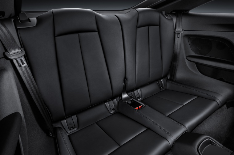 2018 Audi TT RS Coupe Rear Seats Picture