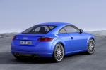 2018 Audi TT Coupe in Scuba Blue Metallic - Static Rear Right View