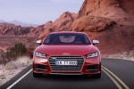 2018 Audi TTS Coupe in Tango Red Metallic - Static Frontal View