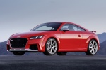 2018 Audi TT RS Coupe in Catalunya Red Metallic - Static Front Left Three-quarter View