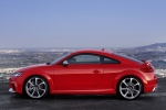 2018 Audi TT RS Coupe in Catalunya Red Metallic - Static Side View