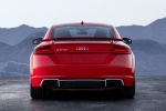 2018 Audi TT RS Coupe in Catalunya Red Metallic - Static Rear View