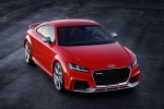 2018 Audi TT RS Coupe in Catalunya Red Metallic - Static Front Right Three-quarter Top View