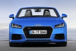 2018 Audi TT Roadster in Scuba Blue Metallic - Static Frontal View