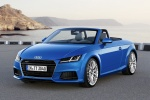 2018 Audi TT Roadster in Scuba Blue Metallic - Static Front Left Three-quarter View