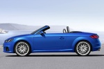 2018 Audi TT Roadster in Scuba Blue Metallic - Static Left Side View