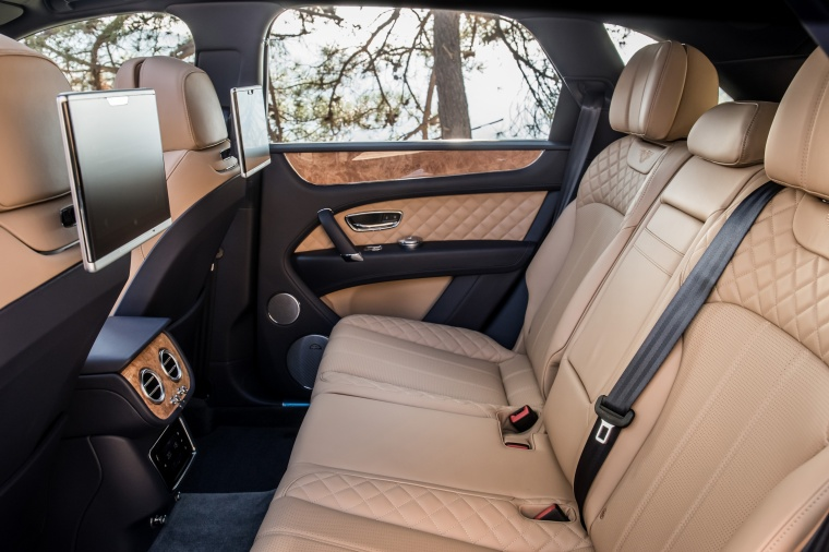 2018 Bentley Bentayga Rear Seats Picture