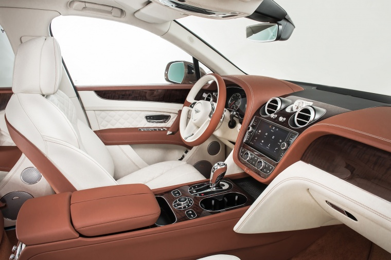 2018 Bentley Bentayga Front Seats Picture