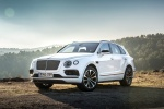 2018 Bentley Bentayga in Glacier White - Static Front Left View