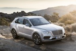 2018 Bentley Bentayga in Silver Storm Metallic - Static Front Right Three-quarter View