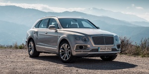 Research the 2018 Bentley Bentayga