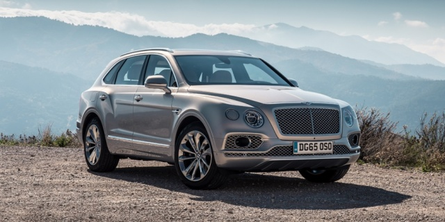2018 Bentley Bentayga Pictures