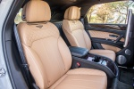 Picture of a 2019 Bentley Bentayga's Front Seats