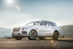 2019 Bentley Bentayga in Glacier White - Static Front Left Three-quarter View