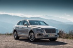 2019 Bentley Bentayga in Silver Storm Metallic - Static Front Right View