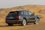 Picture of a 2019 Bentley Bentayga in Black from a rear right three-quarter perspective
