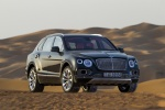Picture of a 2019 Bentley Bentayga in Black from a front right perspective