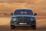 Picture of a 2019 Bentley Bentayga in Black from a frontal perspective