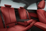 Picture of 2014 BMW M235i Rear Seats in Coral Red