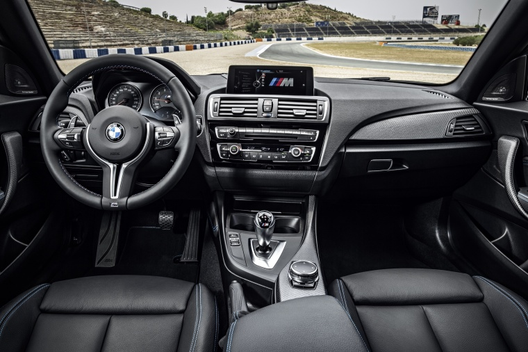 2017 BMW M2 Coupe Cockpit Picture