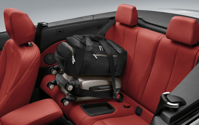 2017 BMW 2-Series Convertible Rear Seats Picture