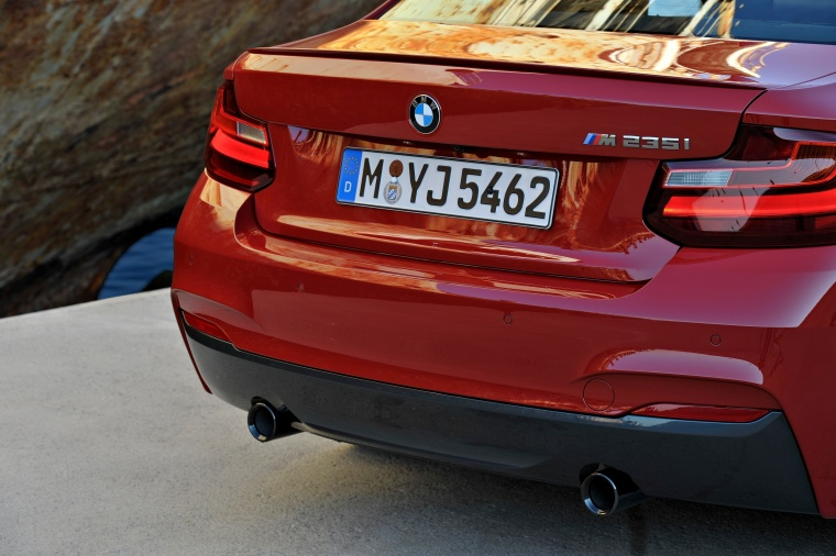 2017 BMW 2-Series M Coupe Tail Light Picture