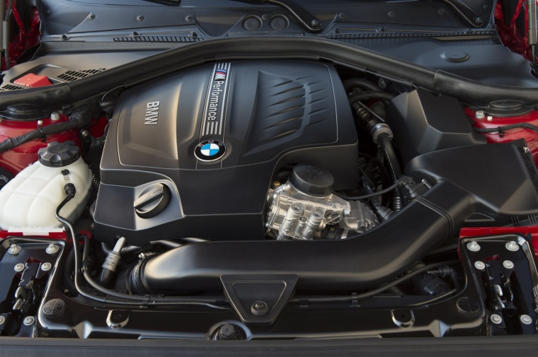 2017 BMW 2-Series M Coupe 3.0-liter Inline-6 turbocharged Engine
