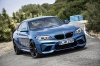 2017 BMW M2 Coupe in Long Beach Blue Metallic from a front right view