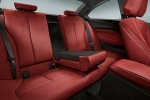 Picture of 2017 BMW 2-Series M Coupe Rear Seats in Coral Red